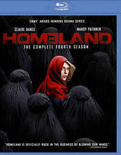 Homeland: The Complete Fourth Season (Blu-ray Disc, 2015, 3-Disc Set) NEW