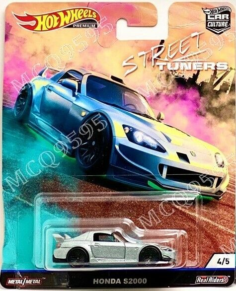 New Hot Wheels Premium 2019 Car Culture STREET TUNERS Complete Set of 5