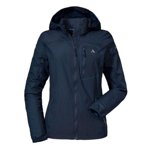 Schöffel Windbreaker Jacket l2 señora función chaqueta azul
