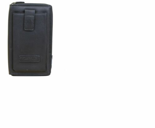 Hill Burry Leder Organizer Kreditkartenetui Reisebrieftasche Flug Brieftasche