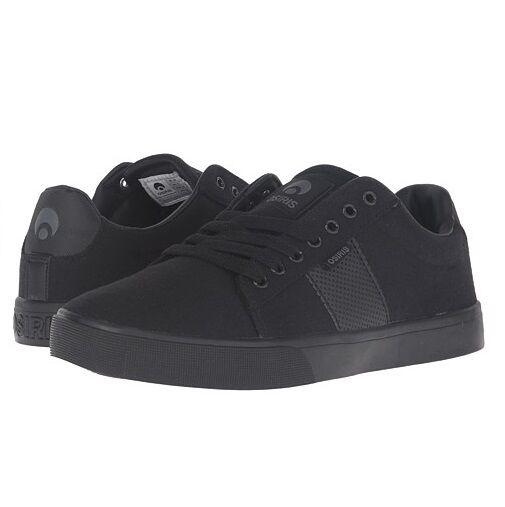 Osiris Mens Rebound VLC Black Charcoal shoes All Sizes BNIB 100% Authentic  60