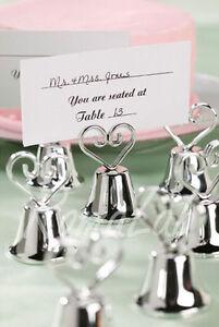 Segnaposto Matrimonio Ebay.12 Campanelle Tirabaci Con Cuore Per Matrimoni Segnaposto