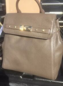 abd97c4a3fc533 Image is loading NWT-MICHAEL-KORS-ADDISON-MEDIUM-LEATHER-BACKPACK-SILVER-