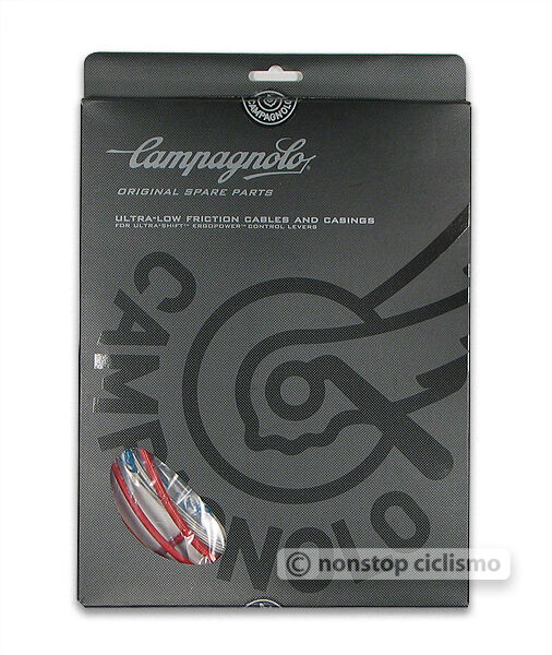 Campagnolo 10 11-Speed Ultra-Shift Ergopower Cable & Housing Kit    Red CG-ER600R  in stock