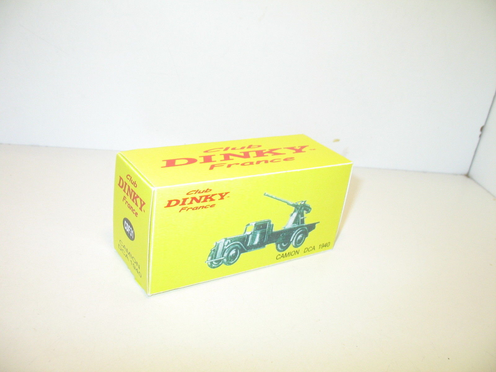 N23, boite camion DCA 1940  repro DINKY-france, militaire