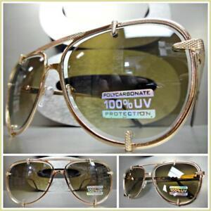 c831197f0e606 Men or Women CLASSIC VINTAGE RETRO Style SUN GLASSES Large Rose Gold ...