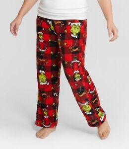 Dr Seuss The Grinch Women s Lounge Pajama Pants Fleece Size M NWT ... d2ecc42c6