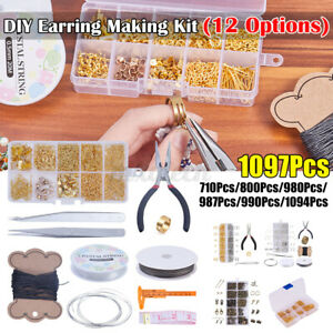 DIY-Jewelry-Making-Starter-Bracelet-Necklace-Findings-Jump-Ring-Supplies-Tool