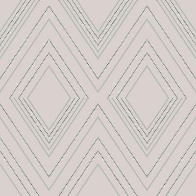 Alea Wallpaper by Muriva  Grey//Silver 703040 Hallways Dotted Detailing