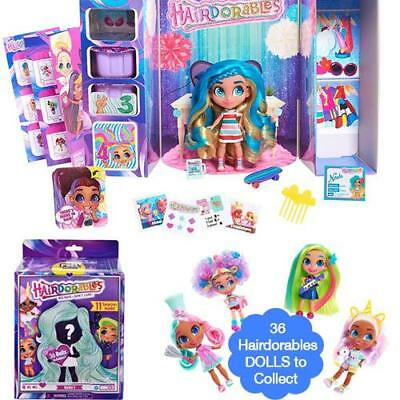 Hairdorables Mystery Surprise Dolls And Accessories Collection For Kids Girls