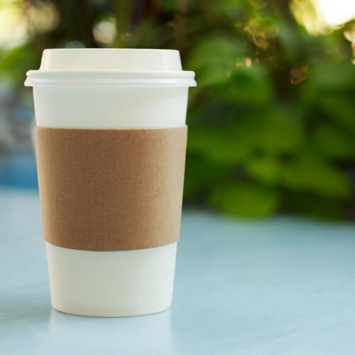 with Lids and Sleeves 12 oz 50 count Insulated Disposable Paper Coffee Cups