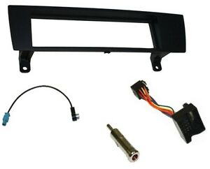 Kit-adaptateurs-autoradio-cadre-faisceaux-pour-BMW-Serie-1-E87-3-E90-Z4-E89