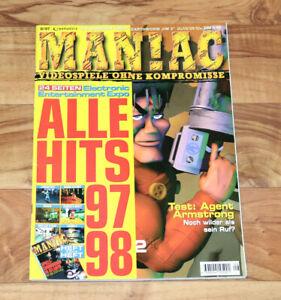 1997 Old Games Magazine Crash Bandicoot 2 Discworld Ii Resident Evil Mega Man X4-afficher Le Titre D'origine Magasin En Ligne