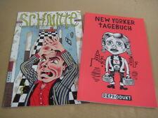 """3x Julie Doucet - Schnitte 1 & 2  & New Yorker Tagebuch - Reprodukt """"Wie Neu"""""""