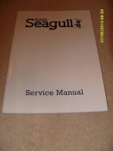 British Seagull Outboard  Engine Service Manual Genuine