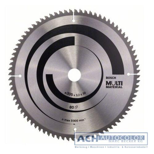 BOSCH Alu Sägeblatt Kreissägeblatt 305mm 80 TR-F für BOSCH GCM 12 SD 0601B23503