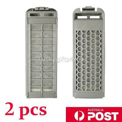 2Pcs Washing Machine Lint Filter For Samsung DC62-00018A、DC97-16513A