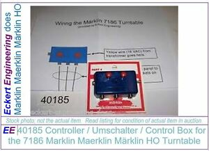 ee 40185 ln controller umschalter control box for 7186 marklin model train wiring image is loading ee 40185 ln controller umschalter control box for