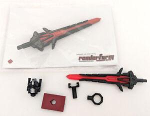 Transformers Renderform Hos Mmc Kit épée Mastermind Rare 2/30 Chaos
