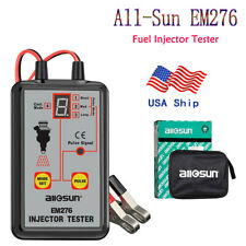 Fuel Injector Tester 4 Pulse Modes Powerful Fuel System Scan Tool All Sun Em276