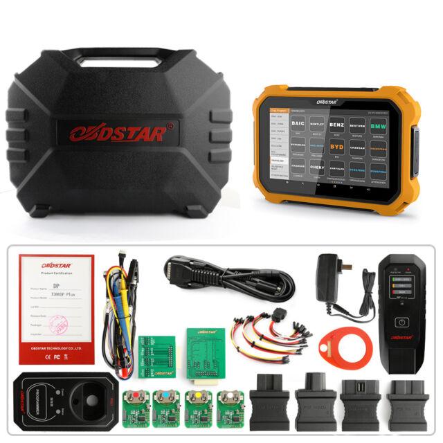 OBDSTAR X300 DP Key Programmer Immobilizer Odometer Correction Obd2 Code  Scanner