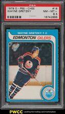 1979 O-Pee-Chee Hockey Wayne Gretzky ROOKIE RC #18 PSA 8.5 NM-MT+