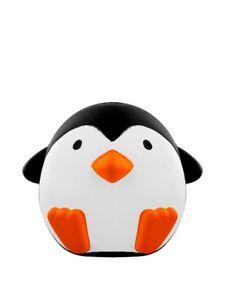 Stress Ball Squishy Podgy Penguin Black
