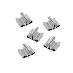 Wood Wick Clip 100-Count Base Stand Metal Set Candle Making Supplies 100pcs