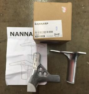 Ikea Nannarp Aluminum Legs X2 Furniture Tv Stand Lightly Used With