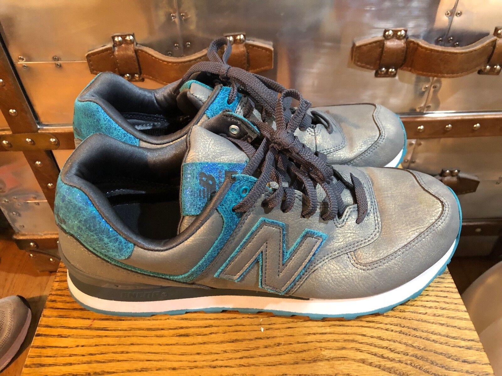 New Balance Women's 574 shoes (WL574MGC) METALLIC Collection Sneakers US 11