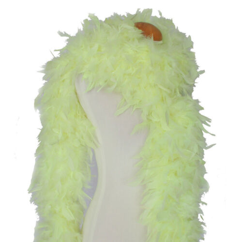 180 Gram Chandelle Feather boas 20+Color//Pattern Costume Wedding Theater Quality
