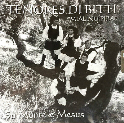 Tenores Di Bitti Mialinu Pira - Su Monte 'E Mesu ( CD - Album )   eBay