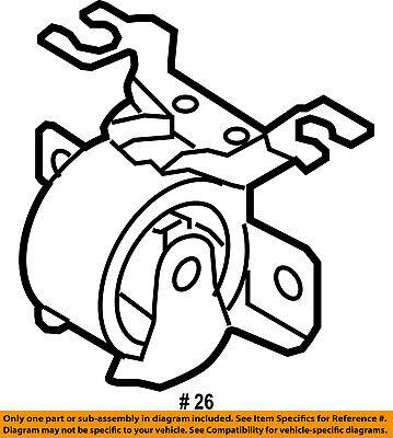 Ford Oem Engine Motor Mount Torque Strut 5l8z6038ba