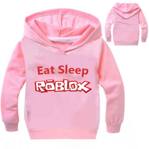 ROBLOX Boys Girls Kids Cartoon Casual Spring Fall Hoodies Sweatshirts Pullover