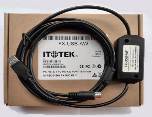 FX-USB-AW-FXUSBAW-1pcs-new-Mitsubishi-PLC-Cable-free-shipping