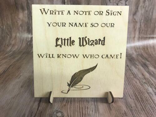 Harry Potter poco asistente Libro De Visitas Firmar Recuerdo Boda Regalo Aniversario