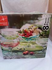 BORMIOLI Rocco - 8 Pezzo Multi-Purpose Dish Set-realizzati a mano vetro