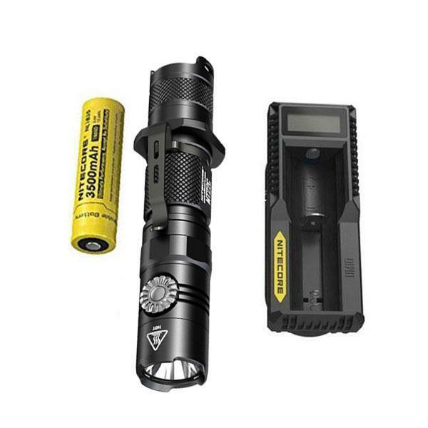 Nitecore MT22C -1000 Lumen Flashlight w  NL1835 Battery & UM10 Charger