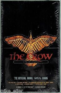 1996-Kitchen-Sink-Press-Crow-City-of-Angels-Trading-Cards-Sealed-Box-36-Packs