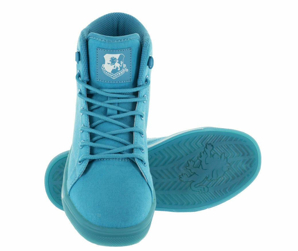 Vlado Footwear Women's Athena Hi-Top shoes Turquoise bluee IG-2730W-9