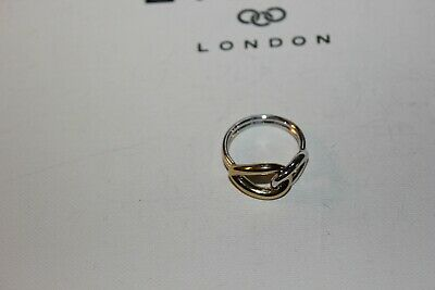 Links of London Womens Jewellery Masquerade Yellow Gold Vermeil Oval Ring