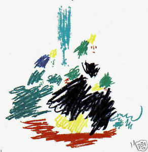 PABLO-PICASSO-1964-LITHOGRAPH-w-COA-AWESOME-PICASSO-COLLECTABLE-VERY-RARE-ART