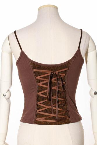 RQ-BL Steampunk Top Shirt Vintage Gothic Spitze Beige Pirates Bluse LARP SP147