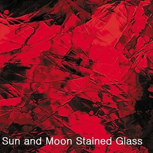 8X10 Spectrum Stained Glass Sheet S 152A - Ruby Red Artique / SHEET GLASS