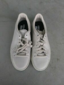 Unisex All Star White Leather Sneakers