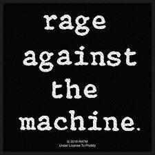 Rage against the Machine Logo  Patch/Aufnäher 602676 #