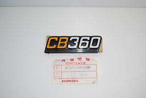 HONDA-CB360-SIDE-COVER-PANEL-EMBLEM-GENUINE-87126-369-000