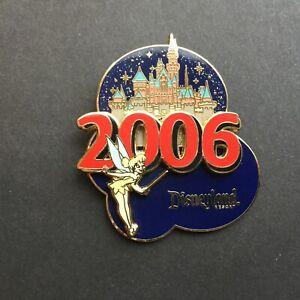 DLR-Sleeping-Beauty-039-s-Castle-2006-Tinker-Bell-3D-Disney-Pin-43400