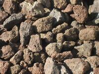 25 kg Lava Steine 40-120 mm - Lavastein Lavasteine Aquarium Kiesel Kies Gasgrill