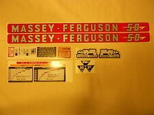 Massey Ferguson 50 Decal Set